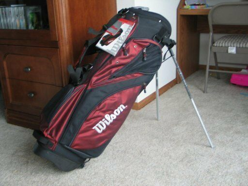 Wilson STAFF X31 Tour Golf Carry Stand Bag Red & Black  NEW