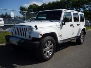 '12 Jeep Wrangler UnlimitedSahara+HeatSeats+MINT! Only $187/Pmts