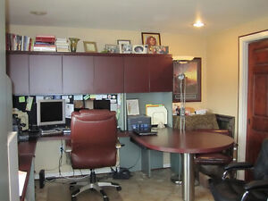 Executive High End 11 piece U shaped Office System