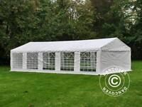 Dancover Marquee/Gazebo PLUS 5x10 m PE, White + Ground bar