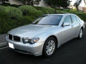 2003 BMW 745i Silver Full Loaded!! With Winter Tires!!