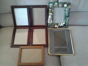 "Lot de cadres pour photos  - 5"" X 7"" - Lot of frames"