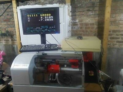 Cnc Lathe Emco Pc Turn 55 Benchtop Machine