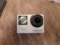 GoPro Hero 4 Silver + 64GB card + Accessories