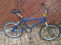 "BMX 20"" Bike with A Lightweight Frame in good condition with al"