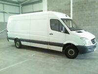 Mercedes Sprinter 313 with reversing camera and slamlocks