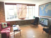 Tiny Dble Bedroom in fun modern flat - easy access to Elephant and TowerBridge