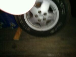Micheln mud and snow rims / tires for Jeep yj Strathcona County Edmonton Area image 7