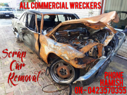 Wanted: Scrap Car Removal - ALL AREAS - All Commercial Wreckers