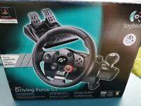 PlayStation Logitech Driving Force GT