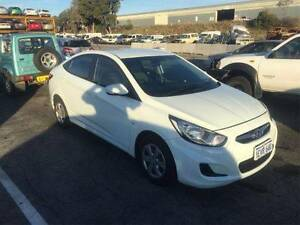 2012 Hyundai Accent automatic petrol Repairable write off record Kardinya Melville Area Preview