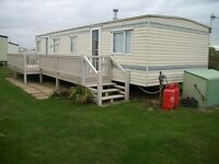 Static Caravan For Sale North Norfolk near Sheringham on Cliff Top location with Beach Access