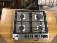 HBH1100 Bosch S/Steel 4 Burner Gas Hob 60cm- UNUSED