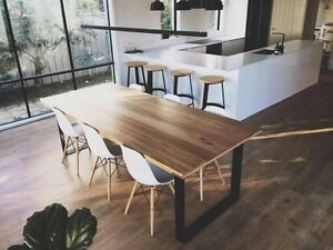 """THE """"RECLAIMED MONARCH"""" DINING TABLE Sandringham Bayside Area Preview"""