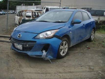 2013 Mazda 3 wrecking for parts .  .      .    .   . f