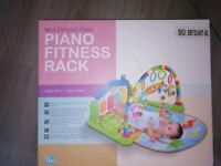 Piano play mat for babies