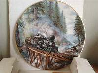 """Ted xaras collector plate Age of Steam"""""""