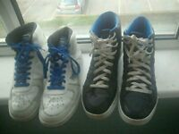 Two pairs sz11 everlast trainers