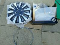 "Halfords 15"" Wheel Trims (NEW)"