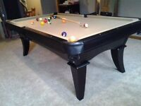 New modern style pool table