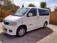 Mazda Bongo Aero City Runner Camper/Dayvan with full rear conversion Dual fuel 2 berth 5 seater