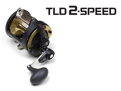 NEW SHIMANO TLD30IIA TLD 30IIA 2SPD best FISHING REEL