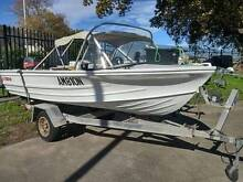 Quintrex Fishabout boat with 30HP Mariner 2 stroke outboard Heatherbrae Port Stephens Area Preview