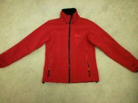 Red softshell jacket - ladies