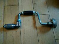 Vgc Vintage Stanley Ratchet Hand Drill