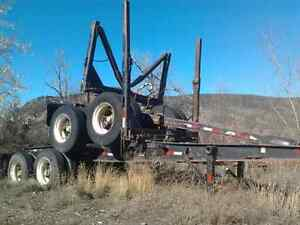 TANDEM JEEP AND POLE TRAILER