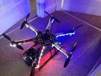 DJI F550 Hexacopter Drone with equipment