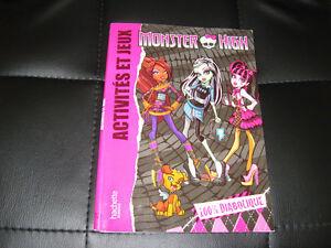 Monster High Livre Activités et Jeux