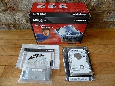 Maxtor 160GB PATA/133 internal hard drive Retail Kit SN:Y46WA1DE Internal Retail Kit