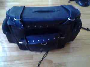 MOTORCYCLE AMERICAN RIDER HARLEY DAVIDSON XXL LEATHER BAG