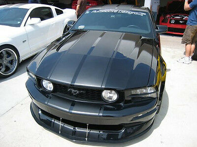 """racing 10"""" Twin Rally Stripe Set Stripes Decal Decals FIT 05 Up MUSTANG Elenore"""