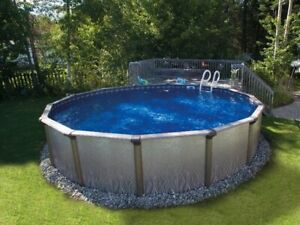 Remplacement toile piscines hors-terre