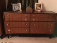 G-plan E-Gomme chest of drawers, 1952 to 1965. Original and good condition
