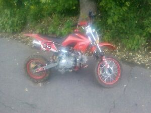 zstar dirt bike db125