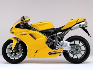 2008 DUCATI 1098 SUPERBIKE in like new condition