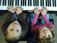 Children's piano lessons in Nelson!