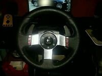 Logitech G27 Gaming Steering Wheel, Pedals and Gearstick