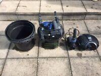 OASE Filtoclean 6000 filter and Aquamax ECO 6000 pump