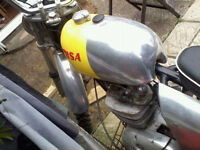 bsa b44 victor special..thumper.1972 matching numbers,very good condition, cool bike,£2600 ovno.