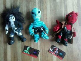 Lobo Hellboy & Abe Sapien Dolls