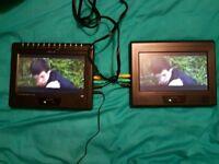 Alba DVD-293 9in Twin Screen In Car DVD Player