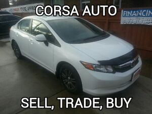 2012 Honda Civic certified,etested,no accident special