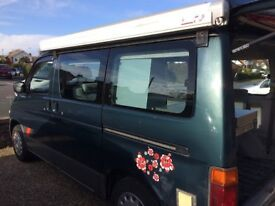 Mazda Bongo Auto Free Top, 2.5L Diesel, 1995, Side Converted Camper + Fiamma Awning *LOW MILEAGE*