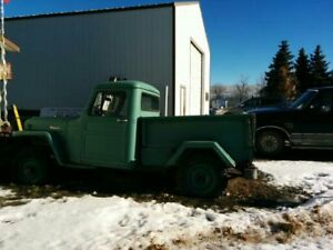 Two Willys for sale by Auction 4-28 in Shaunavon, SK