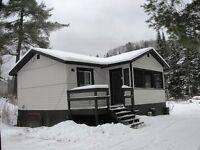 Snowmobile Algoma. Cabin For Rent on the F trail
