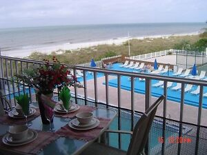 Re-Modelled, 3 BR's Beach Front Condo. Clearwater / Florida